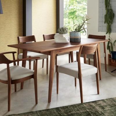 EDDA/エッダ 北欧スタイル 伸長式ダイニングテーブル 幅135~170cm H80021