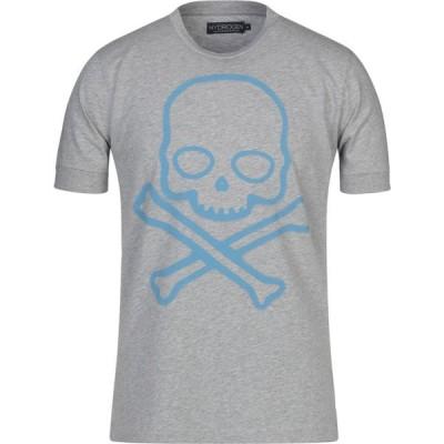 ハイドロゲン HYDROGEN メンズ Tシャツ トップス t-shirt Light grey