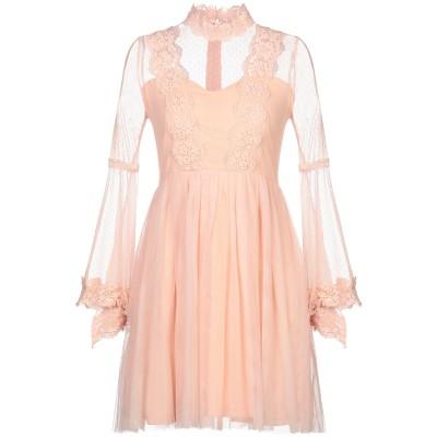 VANESSA SCOTT ミニワンピース&ドレス ライトピンク M ナイロン 100% / ポリエステル / ポリウレタン ミニワンピース&ドレス