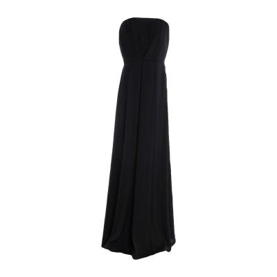 アンナリータ エンネ ANNARITA N ロングワンピース&ドレス ブラック 44 ポリエステル 100% ロングワンピース&ドレス