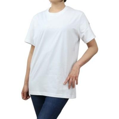 【新品】 モンクレール MONCLER レディース-Tシャツ 8C76510 T-SHIRT GIROCOL V8161 001 ホワイト系 bos-10 apparel-01 ts-01 レディー
