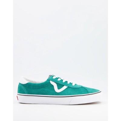 ヴァンズ Vans メンズ スニーカー シューズ・靴 sport trainers in green
