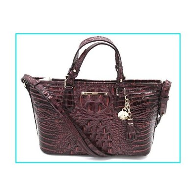 Brahmin Mini Asher Melbourne Shoulder Bag Fig【並行輸入品】