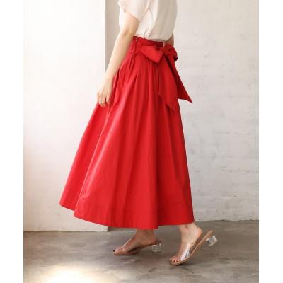 美シルエットリボンスカート