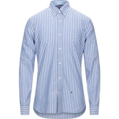 ペペジーンズ PEPE JEANS メンズ シャツ トップス striped shirt Sky blue
