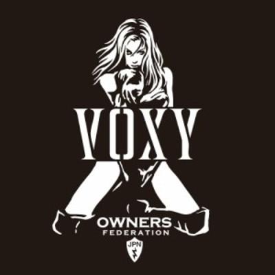 カッティングステッカー トヨタ(TOYOTA)ヴォクシー VOXY bondage 車 カー ステッカー アクセサリー シール ガラス[◆]