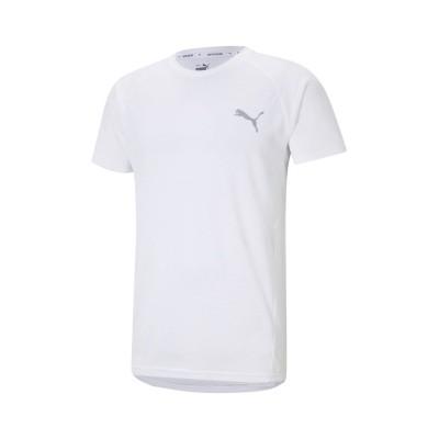 【販売主:スポーツオーソリティ】 プーマ/メンズ/EVOSTRIPE Tシャツ メンズ プーマホワイト M SPORTS AUTHORITY