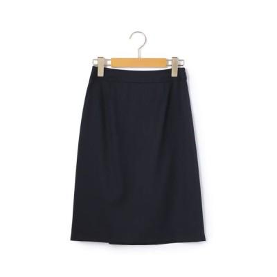 KEITH/キース ファインウールソフト スカート ネイビー 42