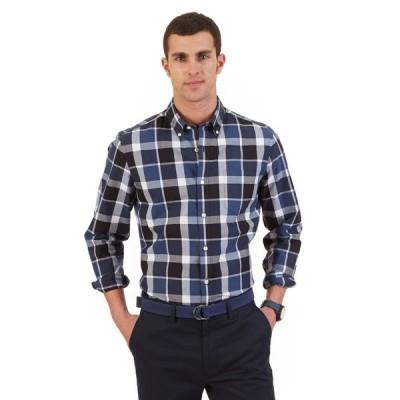 カジュアルシャツ ノーティカ Nautica メンズ スリム Fit Plaid Shirt