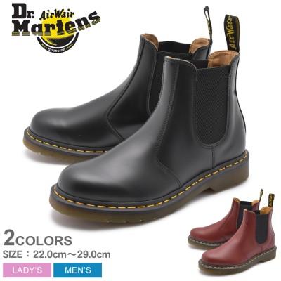 ドクターマーチン DR.MARTENS ブーツ 2976 チェルシー ブーツ CHELSEA BOOT 2227001 22227600 メンズ レディース サイドゴア 靴 本革 黒 シンプル