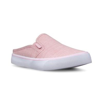 ラグズ スニーカー シューズ レディース Women's Clipper Mule Slip-On Sneaker Soft Pink White