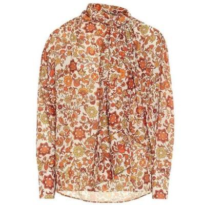 ドド バー オア Dodo Bar Or レディース ブラウス・シャツ トップス Floral crepe blouse Jen Cream