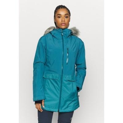 コロンビア ジャケット&ブルゾン レディース アウター MOUNT BINDOINSULATED JACKET - Ski jacket - canyon blue