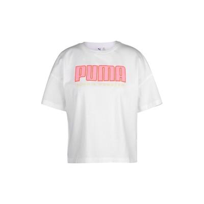PUMA x SOPHIA WEBSTER T シャツ ホワイト S コットン 100% T シャツ