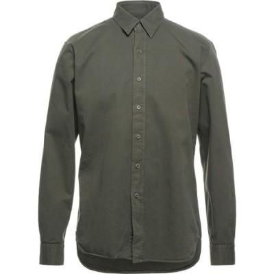 ベルスタッフ BELSTAFF メンズ シャツ トップス solid color shirt Military green