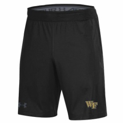 Under Armour アンダー アーマー スポーツ用品  Under Armour Wake Forest Demon Deacons Black MK-1 Shorts