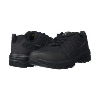 SKECHERS Work スケッチャーズ メンズ 男性用 シューズ 靴 スニーカー 運動靴 Fannter - Black