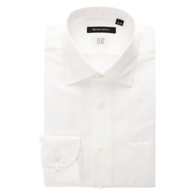 【SUPER EASY CARE】ワイドカラードレスシャツ ヘリンボーン 〔EC・BASIC〕
