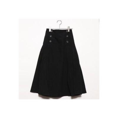 スタイルブロック STYLEBLOCK ファイユプリーツスカート (ブラック)