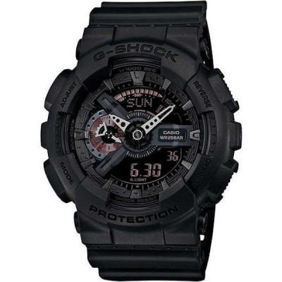 腕時計 カシオ Casio GA110MB-1A メンズ アナログ デジタル X ラージ ブラック バンド and ダイヤル Gショック 腕時計