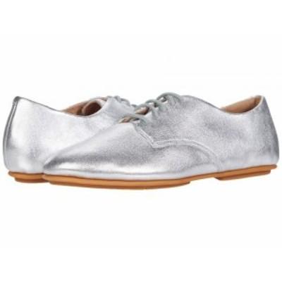 FitFlop フィットフロップ レディース 女性用 シューズ 靴 オックスフォード ビジネスシューズ 通勤靴 Adeola Silver【送料無料】