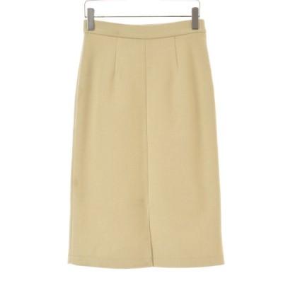 Mew's ヘリンボーンタイトロング スカート