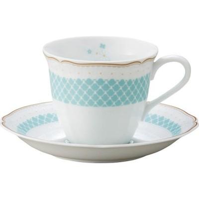 ノリタケ デイジーベル コーヒー碗皿 ブルー  T9588A/1705-1 (ギフト対応不可)