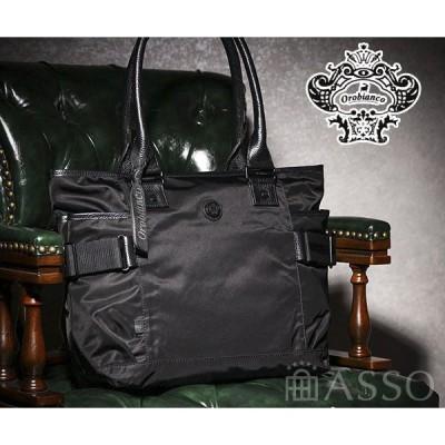 オロビアンコ トートバッグ GRYDA−G 01 92196 ビジネス ブラック Orobianco オールブラックシリーズ 正規品