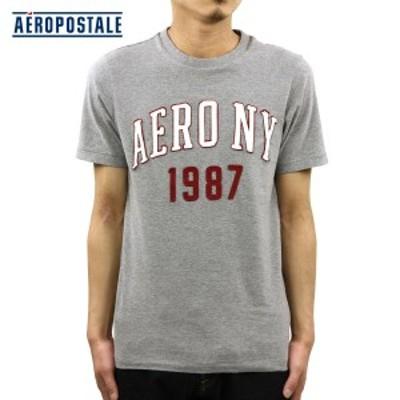 エアロポステール AEROPOSTALE 正規品 メンズ 半袖Tシャツ Aero NY 1987 Logo Graphic T 6005-6401