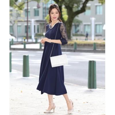 【ブルーイースト】 インパーテッドAラインドレス レディース ネイビー L(02) BLUEEAST