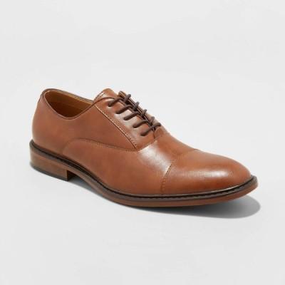グッドフェロー Goodfellow & Co メンズ 革靴・ビジネスシューズ ドレスシューズ シューズ・靴 Joseph Oxford Dress Shoes - Brown