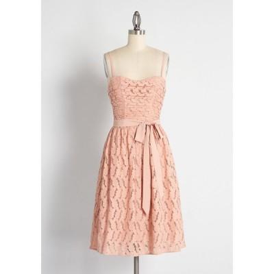 ハンゾウ Hangzhou HS Fashion Corporation Ltd. レディース パーティードレス イブニングドレス Some Enchanted Evening Fit and Flare Dress Rose