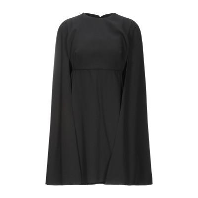 ヴァレンティノ VALENTINO ミニワンピース&ドレス ブラック 40 バージンウール 100% ミニワンピース&ドレス