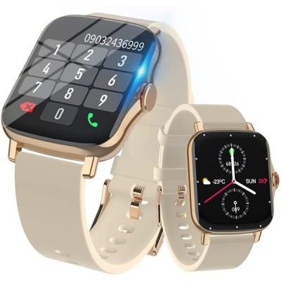 スマートウオッチ Bluetooth通話機能 接続安定 活動量計 IP67防水 1.69インチ大画面 多機能 8種類運動モード GPS運動記録 着信電