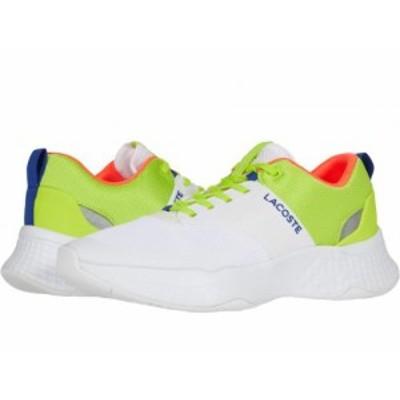 Lacoste ラコステ メンズ 男性用 シューズ 靴 スニーカー 運動靴 Court-Drive Plus 0320 1 White/Light Green【送料無料】