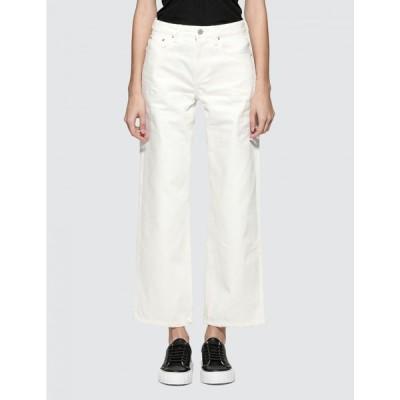 ジョン エリオット John Elliott レディース ジーンズ・デニム ワイドパンツ ボトムス・パンツ Lydia Ivory Wide Leg Jeans White