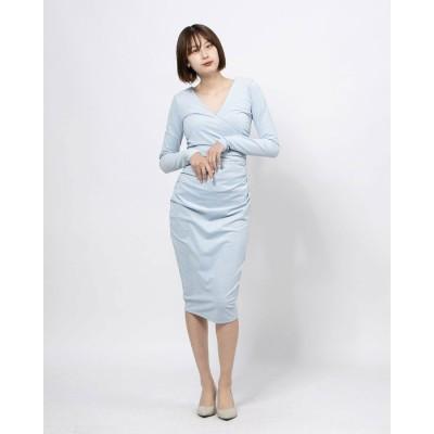 ゲス GUESS GINETTE DRESS (DREW BLUE)