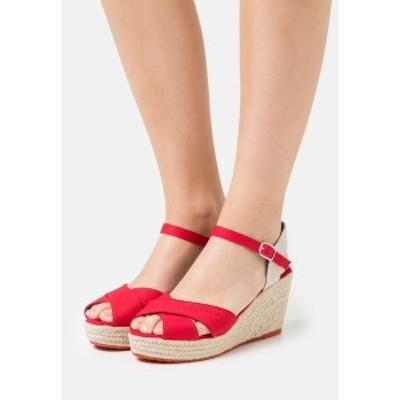 トムテイラー レディース サンダル シューズ Platform sandals - red red