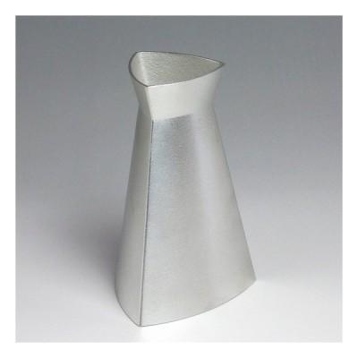 錫100%の酒器TRY(トライ)・三角形の一合徳利・代引き不可・工房直送品