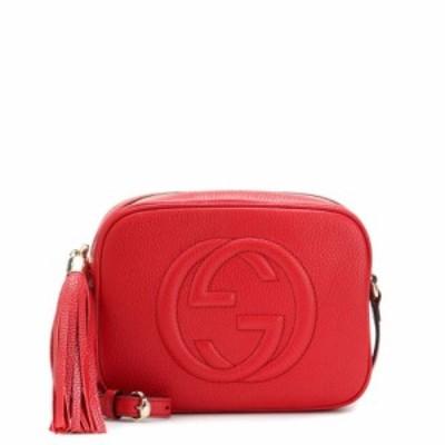 グッチ Gucci レディース ショルダーバッグ バッグ Soho Disco leather shoulder bag Vibrant Red