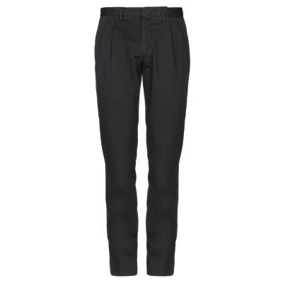 ラルディーニ LARDINI パンツ ブラック 46 コットン 98% / ポリウレタン 2% パンツ