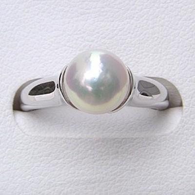 パール リング 真珠 指輪 パール 指輪 あこや本真珠 silver シルバー 冠婚葬祭 おしゃれ