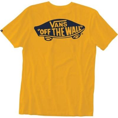 ヴァンズ Vans メンズ Tシャツ トップス Off The Wall T-Shirt Safron/Dress Blues