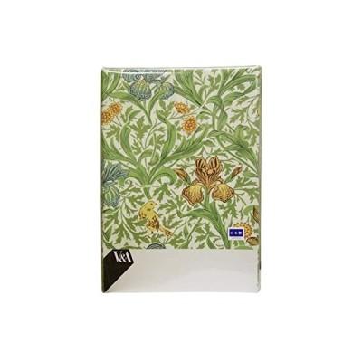 【ロマンス小杉】 V&A 掛けふとんカバー シングルロング(150×210cm) グリーン 1-2840-9102-7200