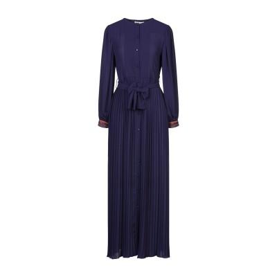 シルビアンヒーチ SILVIAN HEACH ロングワンピース&ドレス パープル XS ポリエステル 100% ロングワンピース&ドレス