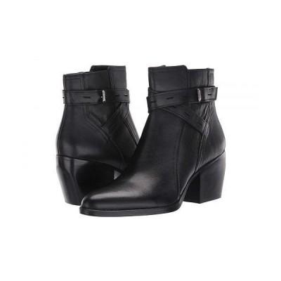 Naturalizer ナチュラライザー レディース 女性用 シューズ 靴 ブーツ アンクルブーツ ショート Fenya - Black Leather