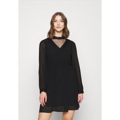 ヴェロモーダ ワンピース レディース トップス VMBELLA DRESS - Day dress - black