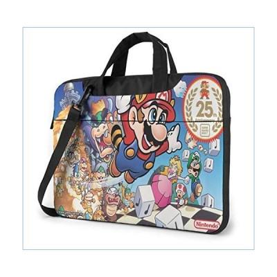 13 Inch Laptop Bag Mario Slim Computer Messenger Shoulder Briefcase with Strap, Laptop Sleeve Shoulder Bag for Game Players並行輸入品