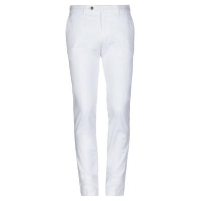 PT Torino パンツ ホワイト 56 コットン 86% / リネン 10% / ポリウレタン 4% パンツ
