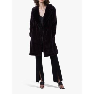 フレンチコネクション ジャケット&ブルゾン レディース アウター French Connection Banna Faux Fur Coat, Decadence